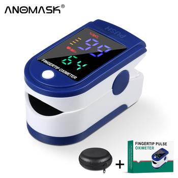 Przenośny palca pulsoksymetr profesjonalny palec wskazówka pulsometr medyczny palec Oximetry OLED darmowa wysyłka tanie i dobre opinie ANOMASK CHINA NONE Dla palców Pulsoksymetria