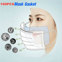 Hot sale 100pcs Face Mask Filter Pad Anti Influenza Pollution Dustproof Breathing Safety Mouth Caps Suitable for KF94 N95 KN95