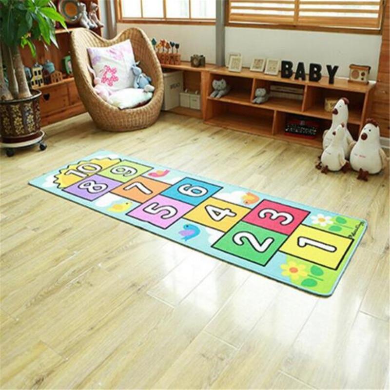 Nombre sautant bébé ramper tapis couverture infantile jouer Gym jeu Pad enfants tapis enfants tapis doux plancher tapis chambre décoration - 3