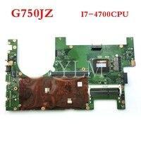 G750JZ With i7-4700HQ CPU 2D mainboard for ASUS G750J G750JZ G750JY laptop motherboard MAIN BOARD 60NB04J0-MB1030 free shipping