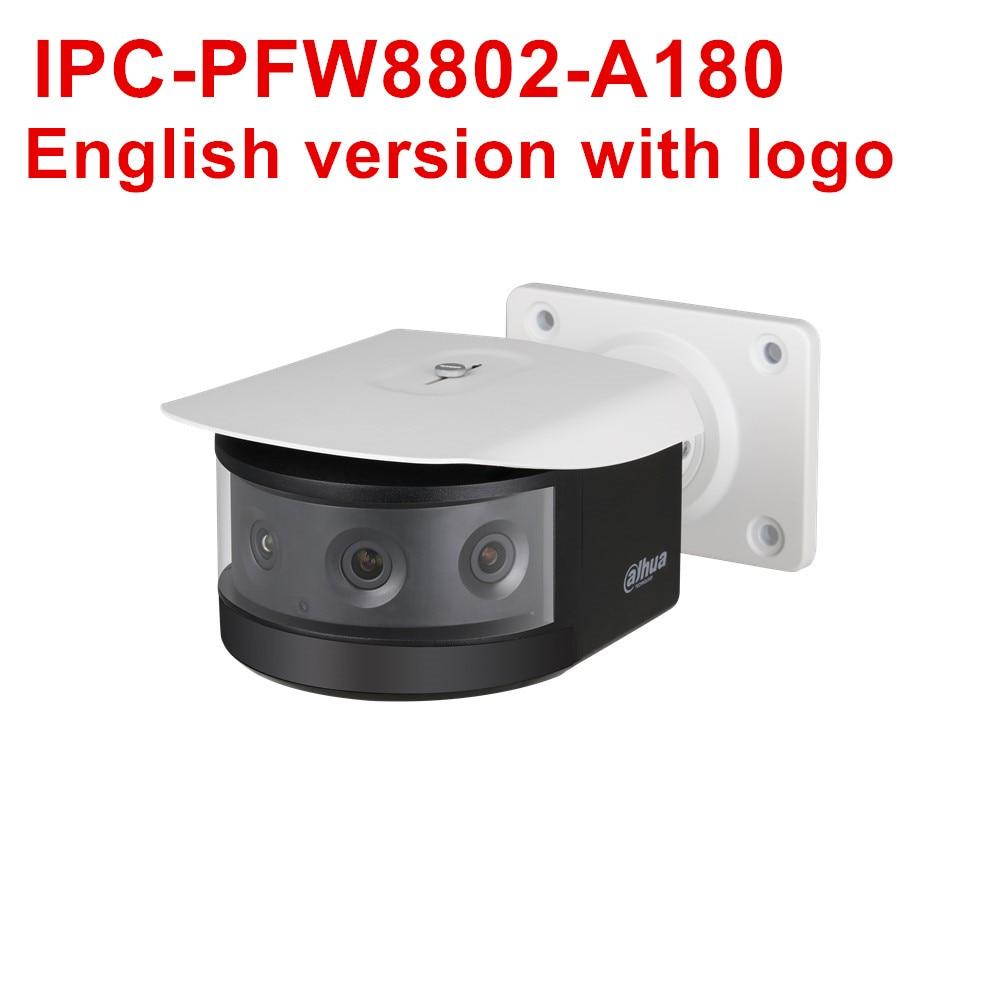 2MP POE + caméra réseau IPC-PFW8802-A180 4x2MP multi-capteur IR 30m fente pour carte SD H.265 H.264 caméra IP de sécurité cctv