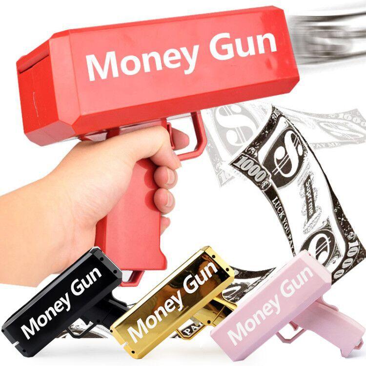 Непоседа подарочные пистолет игрушки на открытом воздухе спортивные игрушки суперпушки деньги электронная ПЭТ наличные деньги пистолет 100...