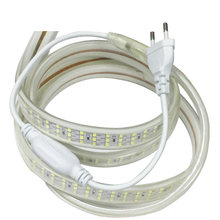 Светодиодные ленты 220 В 276 светодиодов/m smd 2835 вольт Водонепроницаемый