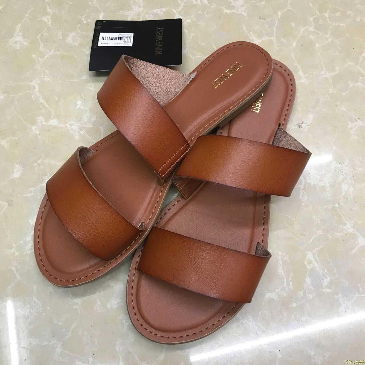 Flat Women Summer White Sandals Shoes