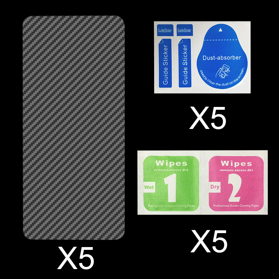 For iPhone XS Max XR Carbon Fiber Back Screen Protector Sticker Film full cover For iphone11 iphone X 7 8 9 6 6S Plus 11 Pro Max