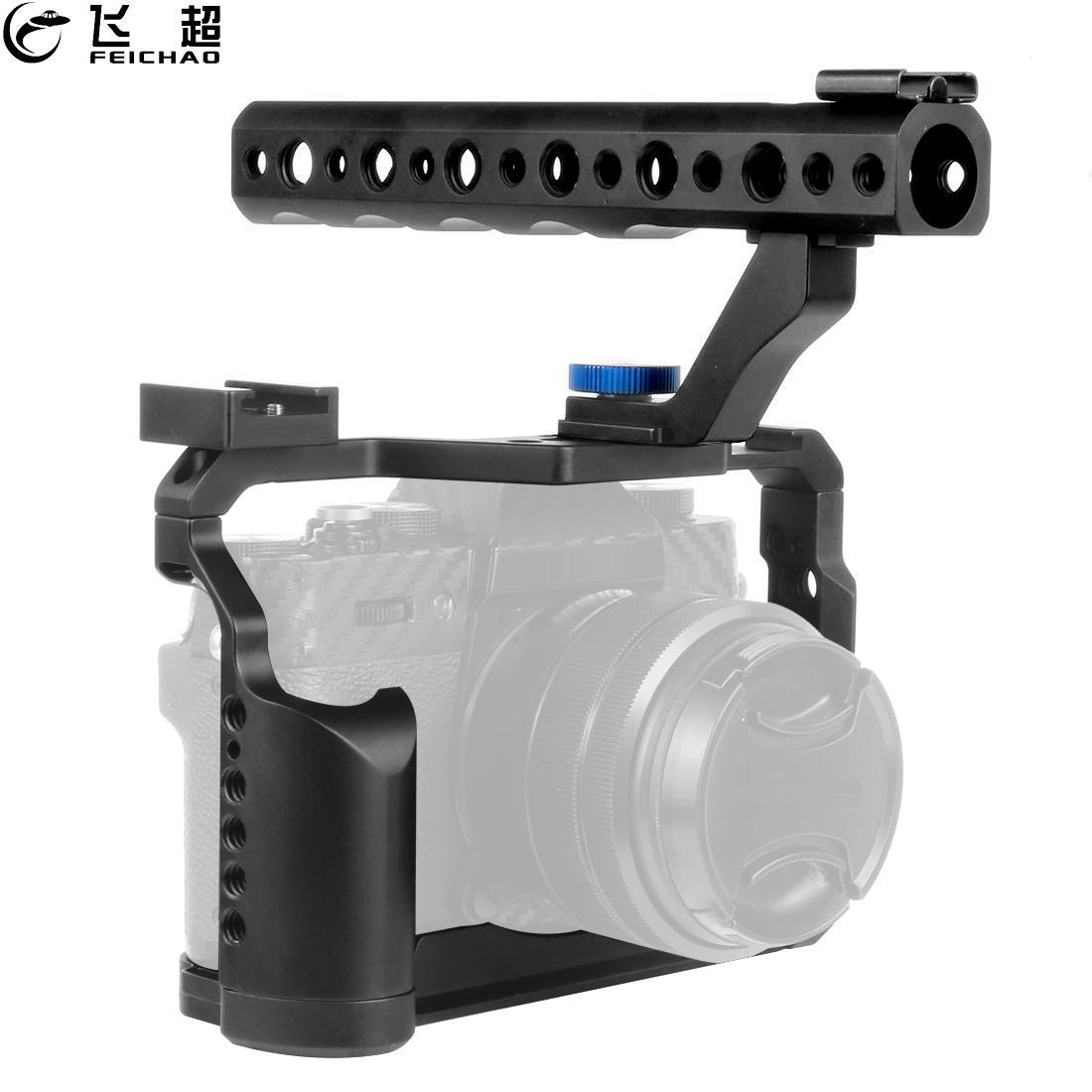 Kamerahäkkilaitteen kahvan kahvan yläosan kenkäteline DSLR - Kamera ja valokuva