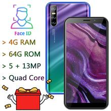 7Pro 4GRAM+64GROM Smartphone 5MP+13MP Face ID 6 0 #8243 Screen Mobile Phone Quad Core celulars MTK Android Phones Unlocked CellPhones cheap BYLYND Detachable 64GB Face Recognition Up To 48 Hours 2500 Adaptive Fast Charge Smart Phones Capacitive Screen English