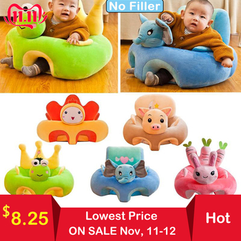 Baby Sofa Support Seat Cover Plush Chair Learning To Sit Comfortable Toddler Nest Puff Washable without Filler Cradle Sofa Chair