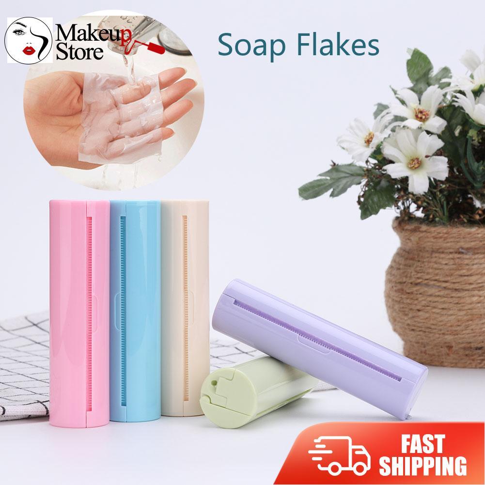Pull Тип мыло для мытья рук Бумага Портативный путешествия одноразовые Ароматические бумажные салфетки в рулоне хлопья ломтик ванна уход за ...