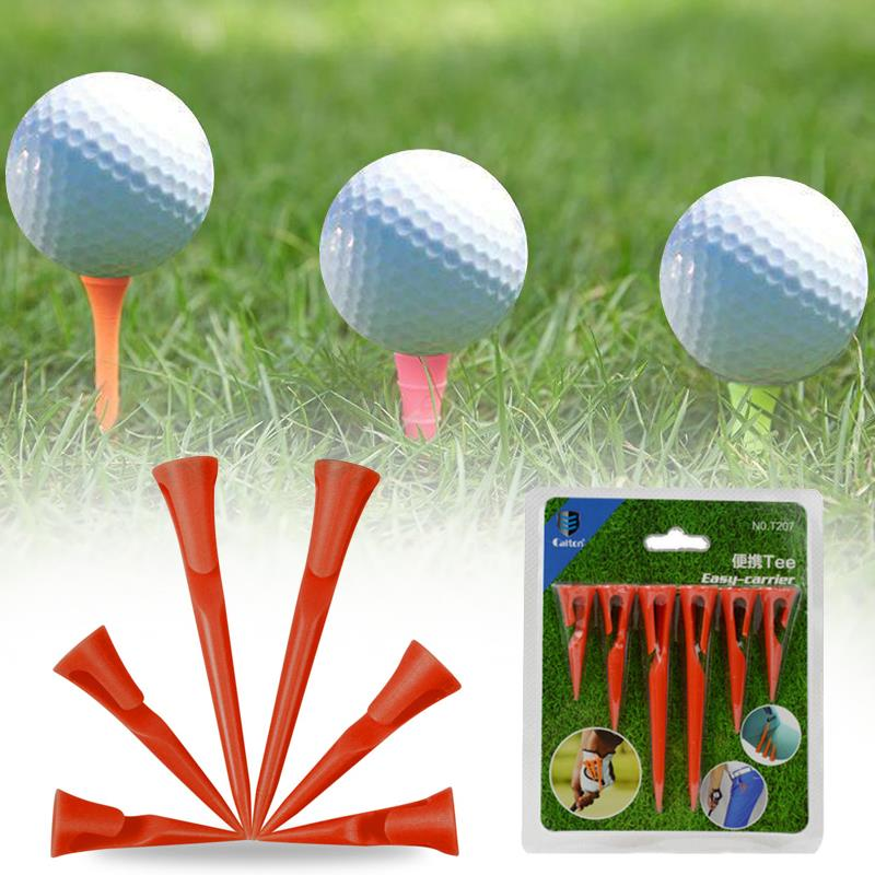 Scale Ball Nail Durable Portable Plastic Red Action Correction Device Golf Club Cushion Top Golf Nail Lovely Practical Training