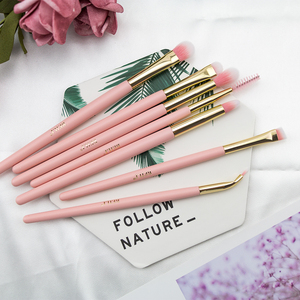 Image 5 - BEILI box packing 15pcs makeup brushes set matte Pink Highlight Foundation Powder Eye shadow pro brush brochas maquillaje
