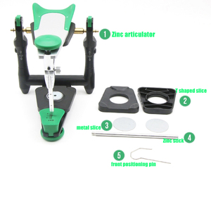 Image 1 - 1 Набор стоматологический лабораторный функциональный артикулятор из цинкового сплава, артикулятор для укусов, артикулятор для лица, для моделирования камня