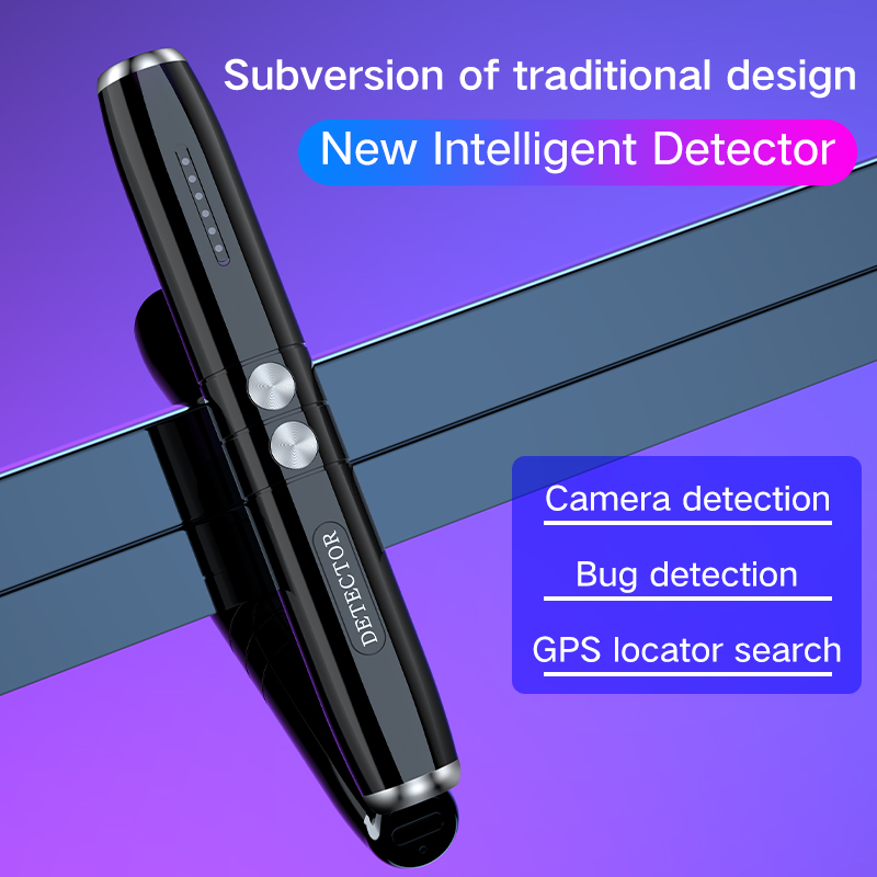 GPS Signal Finder Wireless Camera Mini Bug Detector Anti SPY Gadget Wiretap Hidden Infrared Pinhole Cam/GSM/GPS Locator Blocker