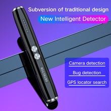 GPS Signal Finder Wireless Camera Mini Bug Detector Anti SPY Gadget Wiretap Hidden Infrared Pinhole Cam/GSM/GPS Locator Blocker