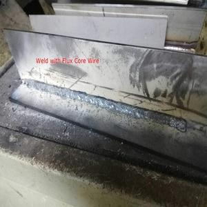 Image 5 - Reboot soldador Mig sin gas, máquina de soldadura de 220V MIG120, soldadores Mag, equipo de soldadura de acero y hierro, soldador portátil de MIG MAG