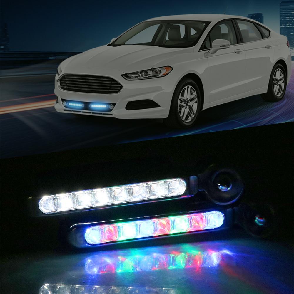 LEEPEE LED Wind Powered Rotation Fan Car Daytime Car Lamp Vehicle Light No Need External Power Supply
