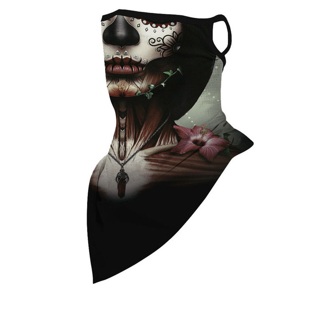 Outdoor Print Seamless Ear Face Cover Sports Washable Scarf Neck Tube Riding Face Mask Windproof Bandana Unisex Accessory 3
