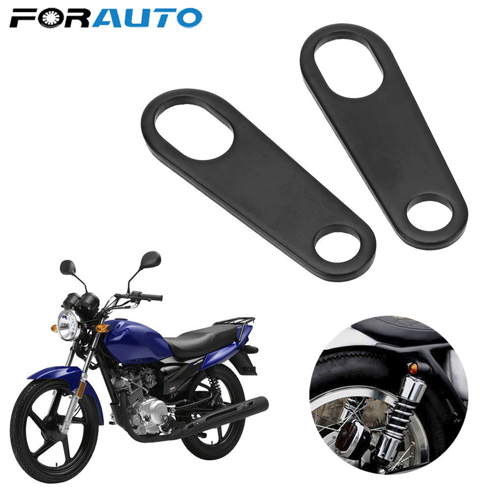 2Pcs Motorcycle Turn Signal Light Mount Brackets Lamp Holder Shock Brackets Universal Fork Ear Clamps Motorcycle Accessories