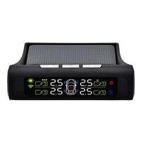 Solar Tpms Lcd Reifendruck Überwachung System Automatische Alarm System Externe Sensor-in Reifendruck-Monitorsysteme aus Kraftfahrzeuge und Motorräder bei