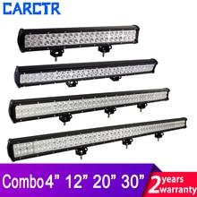 цена на Truck Tractor Led Light Bar Work Light 18W 36W 72W 108W 180W 12V 24V Spot Flood Combo Beam for ATV SUV 4X4 4WD Offroad Headlight