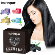 Shampoo-Bar Scented Hair for Natural Plant Essential-Oil Oil-Control