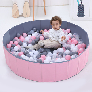 Suchy basen dla dzieci niemowlę piłka Pits okrągły składany basen z piłeczkami piłka oceaniczna kojec zabawka zmywalny składany płot dla dzieci wystrój pokoju