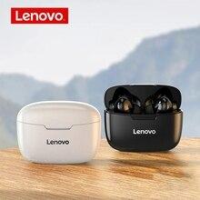 Lenovo Chính Hãng XT90 Bluetooth Không Dây 5.0 TWS Tai Nghe Nhét Tai Chống Nước Tai Nghe HiFi Tai Nghe Không Dây Có Mic Thể Thao