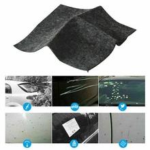 1 pc Fix wyczyść zadrapanie samochodu Nano naprawy tkaniny magia naprawy powierzchni szmaty dla światła samochodowe zadrapania na lakierze Remover Scuffs środek do mycia samochodów tanie tanio Polerowanie Ręcznik 20x10cm