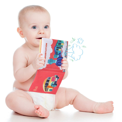 montessori bebe livro macio tecido animal fruto