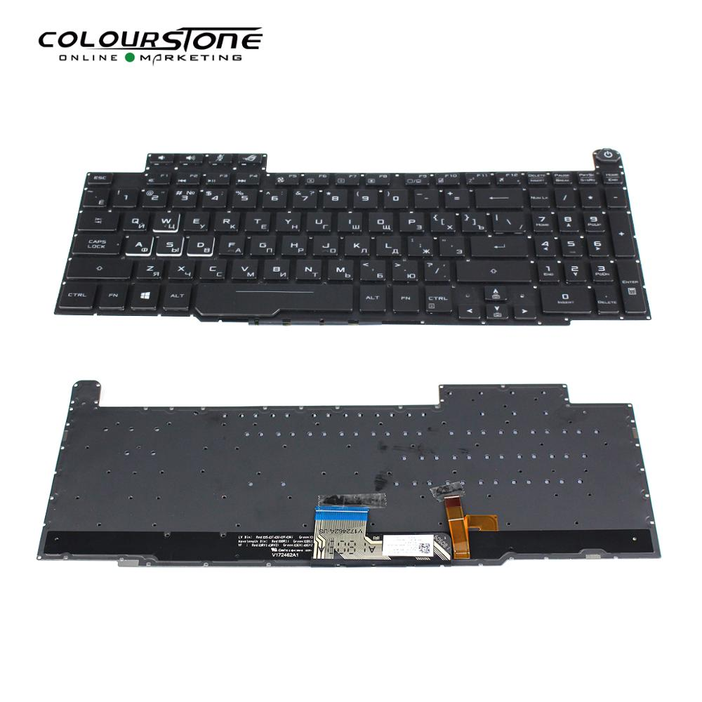 Laptop Keyboard for ASUS GM501G GM501GM GM501GS US United States Black with Backlit V172462A US