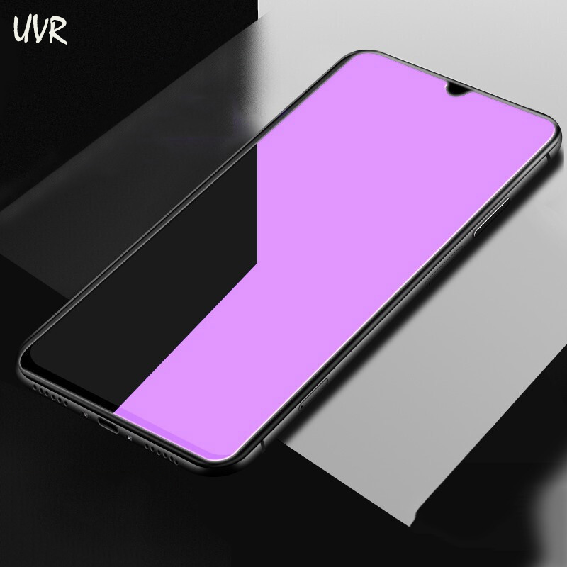UVR Redmi Note 7 Anti Blue Tempered Glass For Xiaomi Redmi Note 8 7 Pro Glass Xiomi Redmi 7A K20 Pro Full Cover Screen Protector