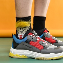 President Donald Trump Unisex Socks Funny Printed Adult Casual Crew Soc