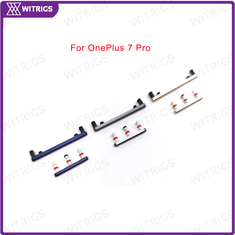 Witrigs Power Button Volume Button Switch On Off Button For Oneplus 7 Pro One Plus 7Pro Replacement