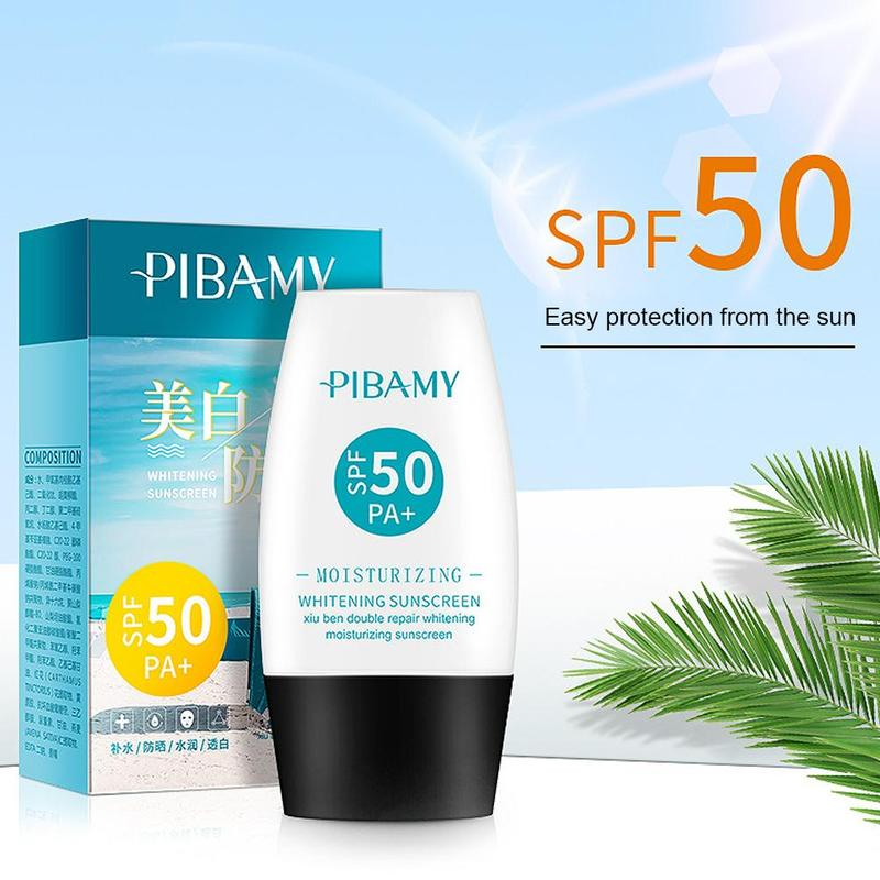 30ml Sunscreen Whitening Sun Cream Sunblock Skin Anti-aging Oil-control Moisturizing Protective Cream SPF 50 Facial Body