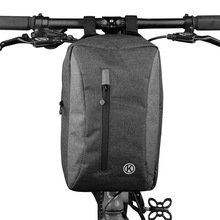 Bike Handlebar Bags Large Capacity Cycling Handlebar Storage Bike Front Bag for Bike Scooter Fold Bike
