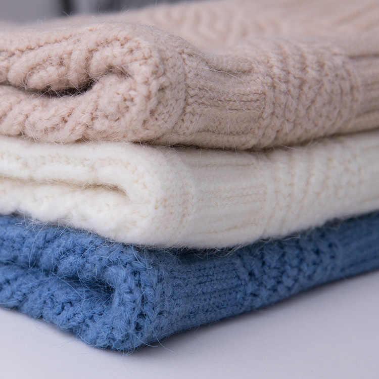 V-목 스웨터 여성의 새로운 한국어 흰색 느슨한 대형 게으른 바람 카디건 뜨개질 길어야