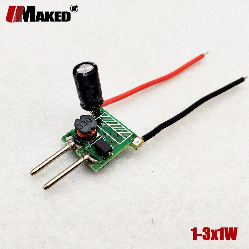Pack de 5 pi/èces Transformateur 5W Convertisseur pour LED Ampoules G4 MR11 MR16 AC//DC 12V tension constante DC 12V