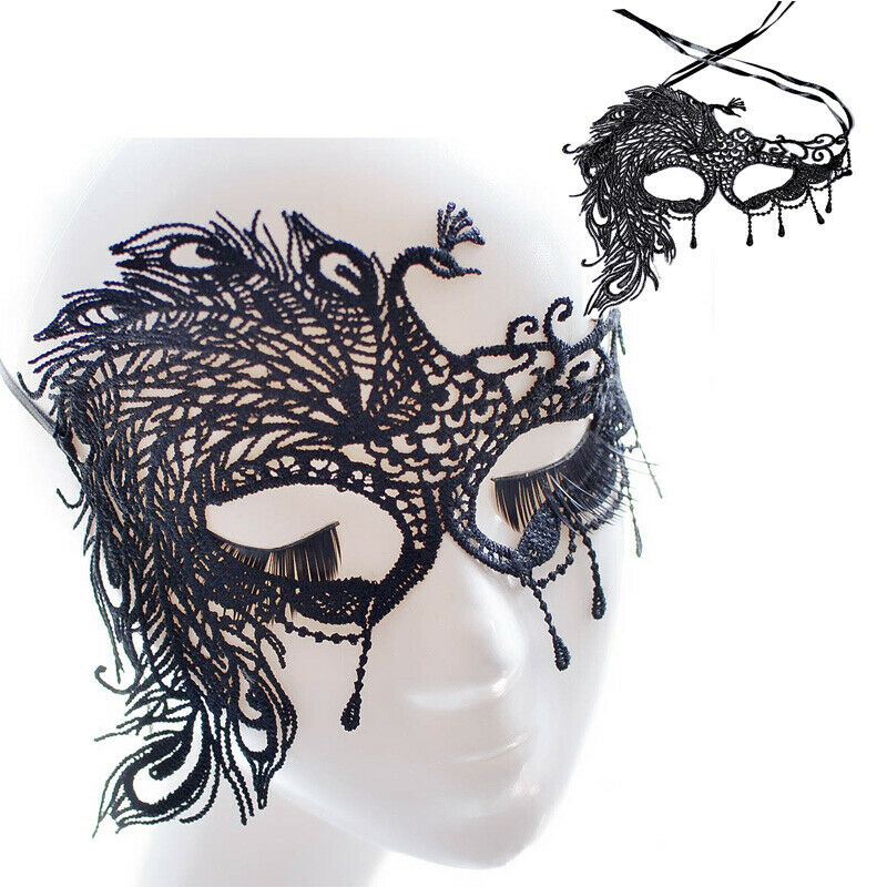 <font><b>Sexy</b></font> Lace <font><b>Eye</b></font> <font><b>Mask</b></font> Halloween Party Venetian Masquerade Ball Fancy Dress Costume Lace <font><b>Mask</b></font> image