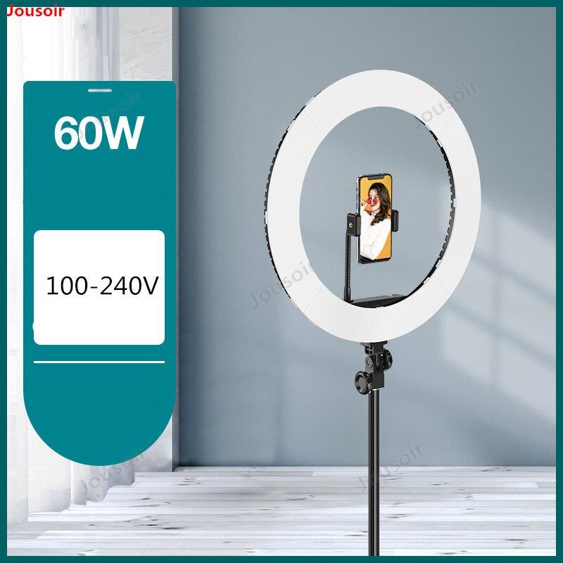 Светодиодный прожектор профессиональный свет съемки живое красивое кольцо свет макияж мягкий свет портретная камера портативное оборудов