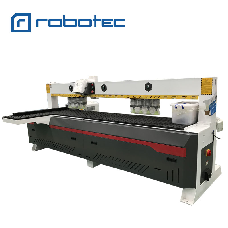 CNC Infrared Horizontal Wood Hole Side Drilling Machine Used For Woodworking/Furniture CNC Router Line Machine