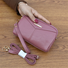 Crossbody Bag Women Black/blue/purple/red/graypink Female Clutch Zipper Cellphone Bags Women's Large Capacity Bags for Women