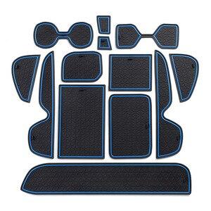 Image 1 - Thảm Chống Trơn Trượt Cho Điện Thoại Cổng Khe Cắm Thảm Cốc Miếng Đệm Cao Su Thảm Dành Cho Xe Toyota RAV4 2019 2020 XA50 RAV 4 50 Xe Ô Tô Phụ Kiện