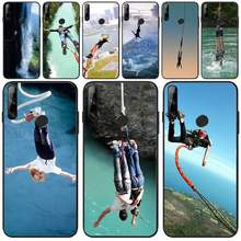 BaweiTE Bungee jumping Phone Case Cover For Huawei Y5 Y6 Y7 Y9 Prime Pro II 2019 2018(China)