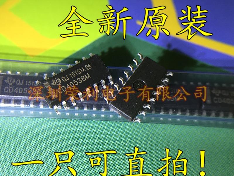 10 PCS CD4053BM SOP-16 CD4053 SMD Logic Level Conversion