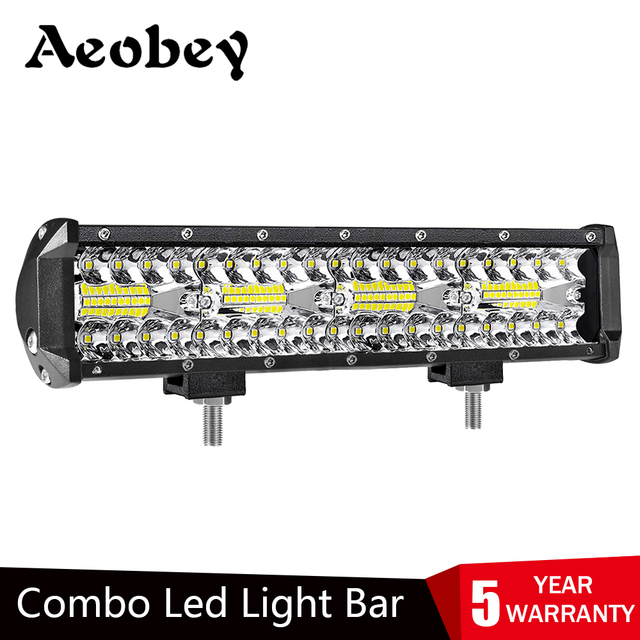 Aeobey 12 インチ 240 ワット 80led オフロード led ライトバー湾曲した led 駆動ライト 4 × 4 オフロードトラック suv atv トラクターボート 12v 24v