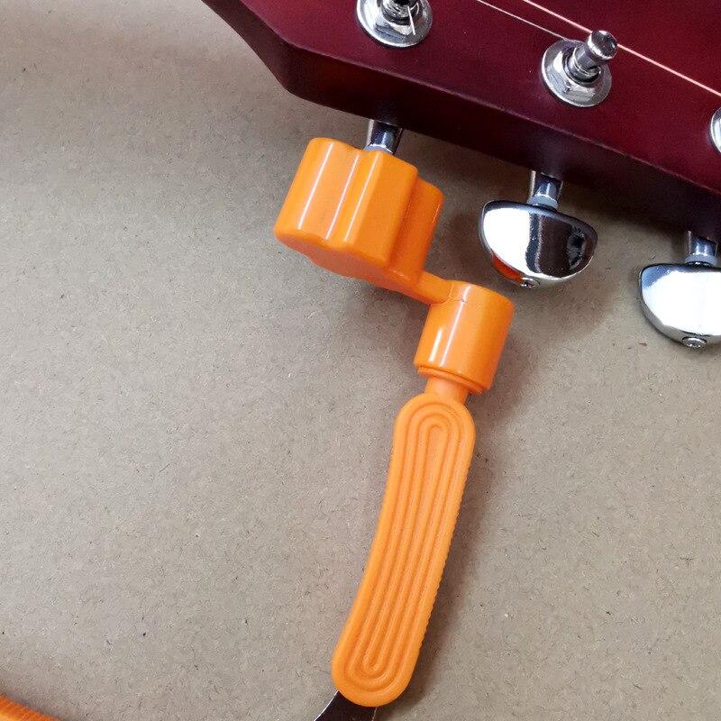 Abilie Accesorios Guitarra Cambiador de Cuerdas 3 en 1 Cortes Cortador de Cuerdas Pasador