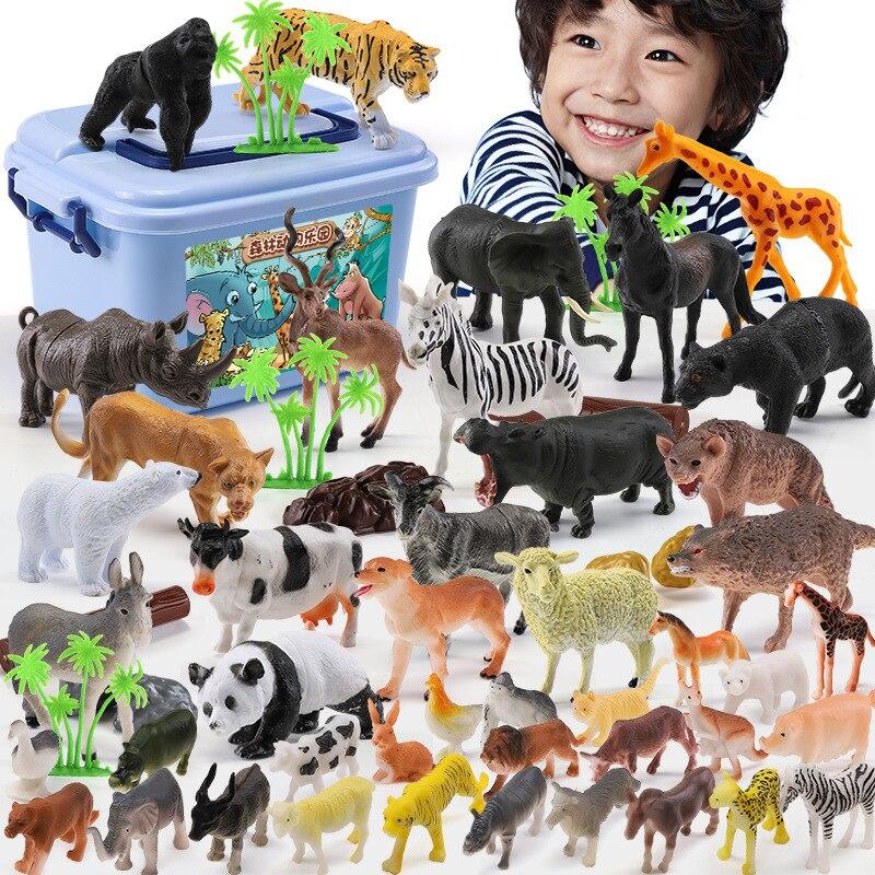 Enfants faune simulation modèle jouet animal costume garçon jouet biologie