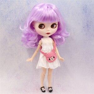 Image 5 - קפוא DBS blyth הבובה 1/6 צעצוע BJD משותף גוף הצעה מיוחדת נמוך מחיר DIY ילדה מתנה, 30cm בובת עירום אקראי עיני צבעים