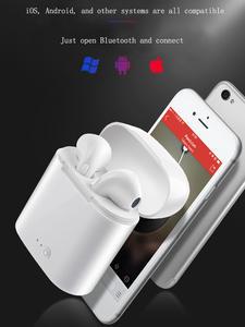Earphones Headset Bluetooth Huawei Xiaomi Sport Samsung Wireless with I7 TWS Mic