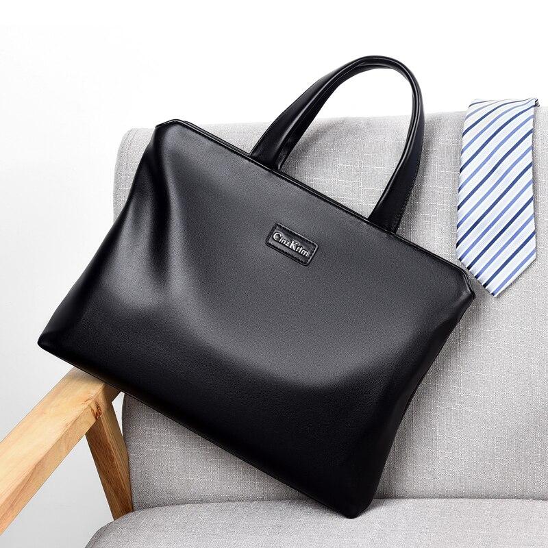New Design Business  Man' S Briefcase Causal Shoulder Cross Body Bag Laptop Message Bag Male Travel Bag Big Capacity Handbag
